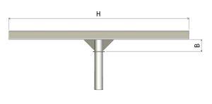 Кронштейн для опоры освещения К1Р1П, К1Р2П, К1Р3П