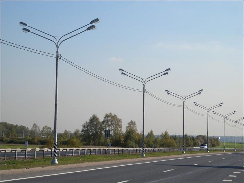 Силовые опоры освещения тип СП