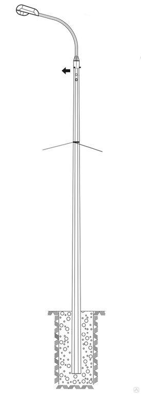 Опора СПГ-400(90)-9,0/11,5-02