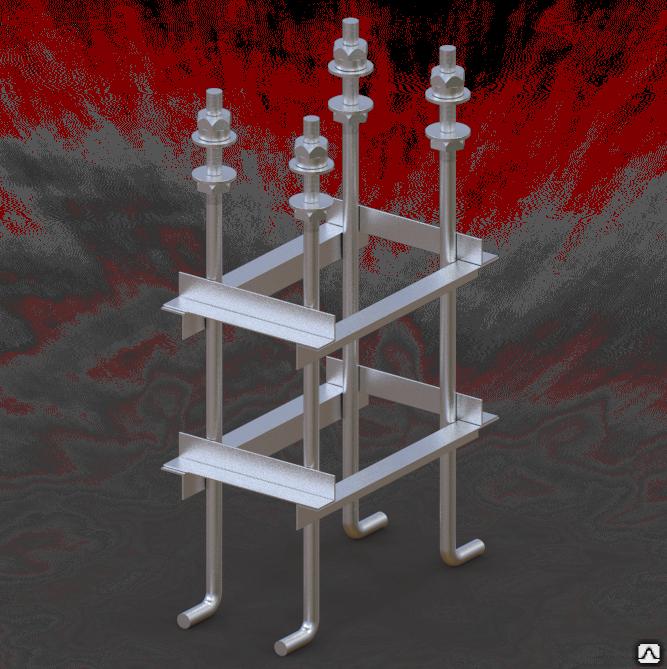 Все типы анкерных фундаментных блоков