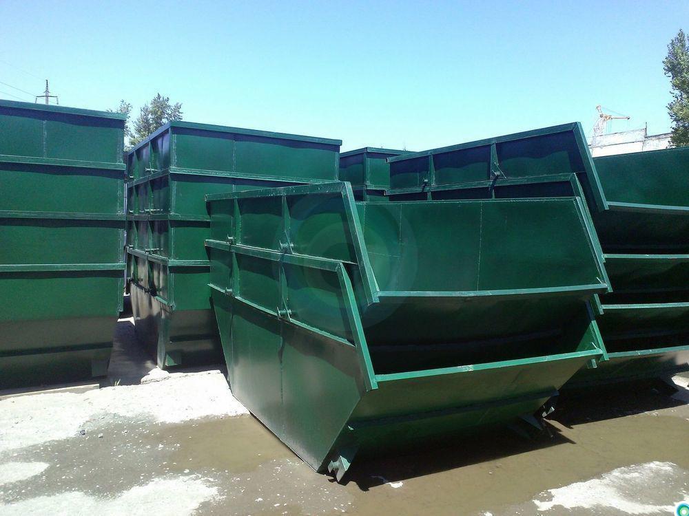 Мусорные контейнеры для ТБО