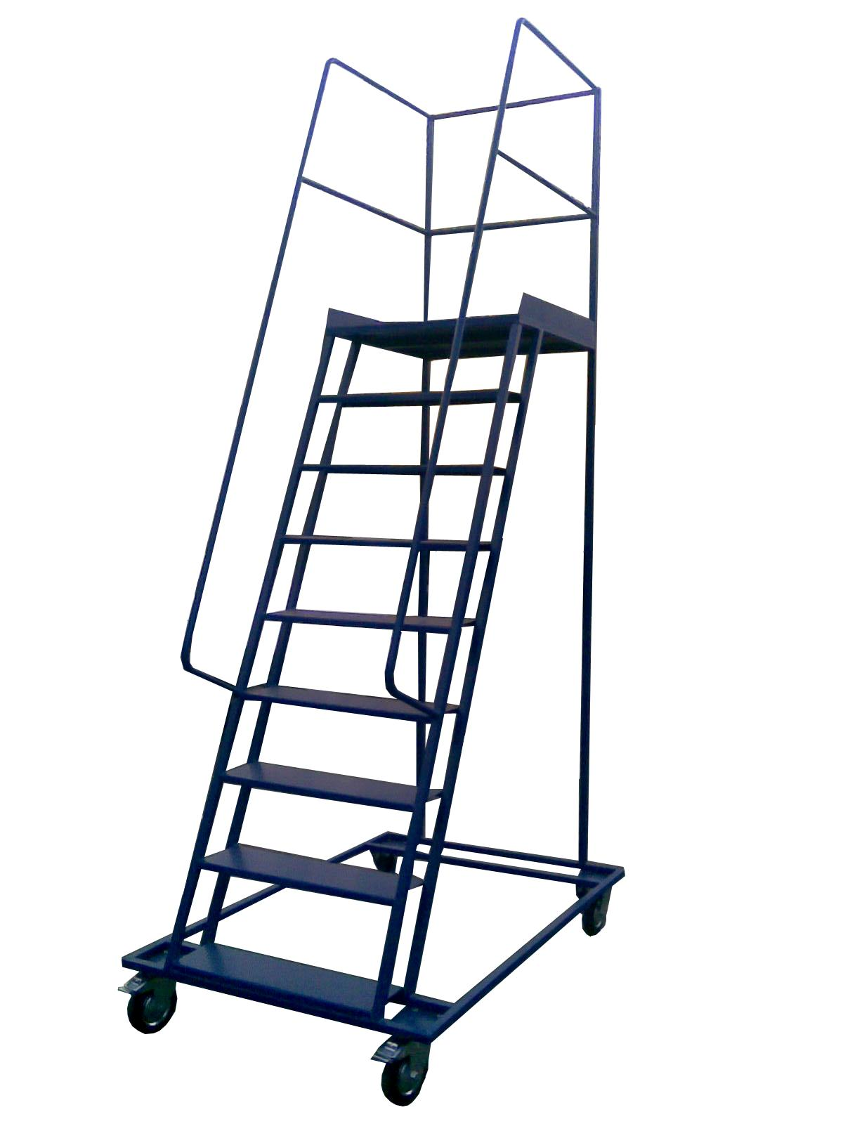 Складские платформенные лестницы