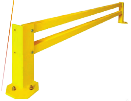 Защитные перекладины для стеллажного отбойника ОС-3