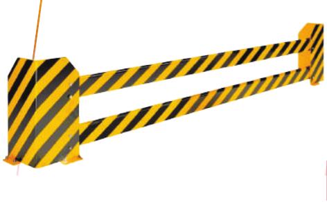 Защитные перекладины для стеллажного отбойника ОС-6